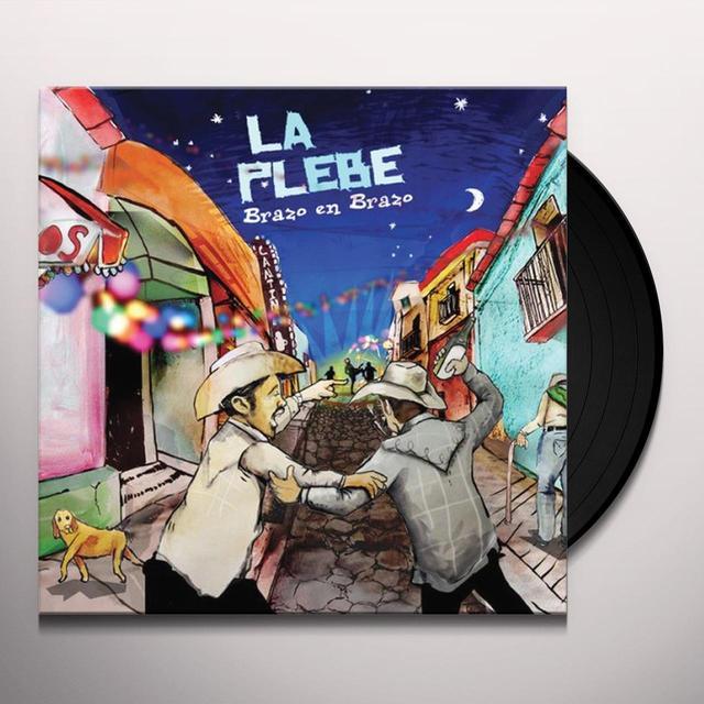 Plebe BRAZO EN BRAZO Vinyl Record