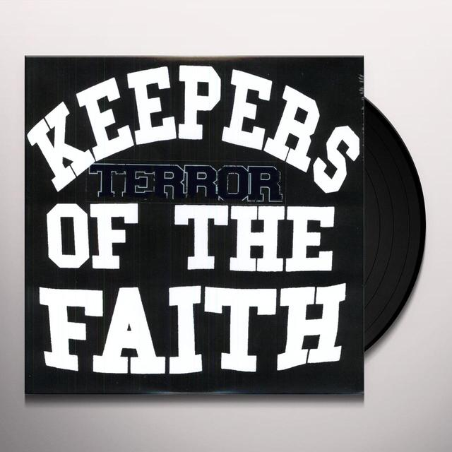 Terror KEEPERS OF THE FAITH Vinyl Record