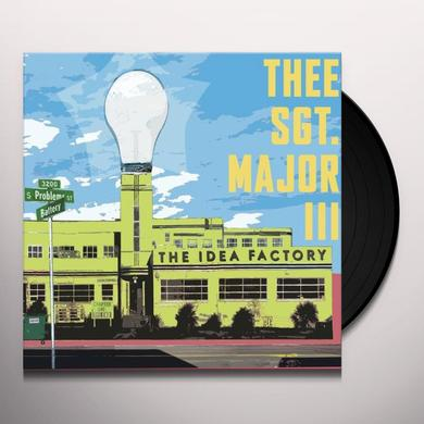 Thee Sgt Major Iii IDEA FACTORY Vinyl Record