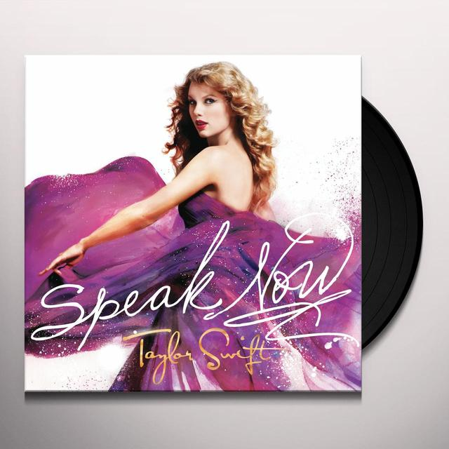 Taylor Swift SPEAK NOW Vinyl Record