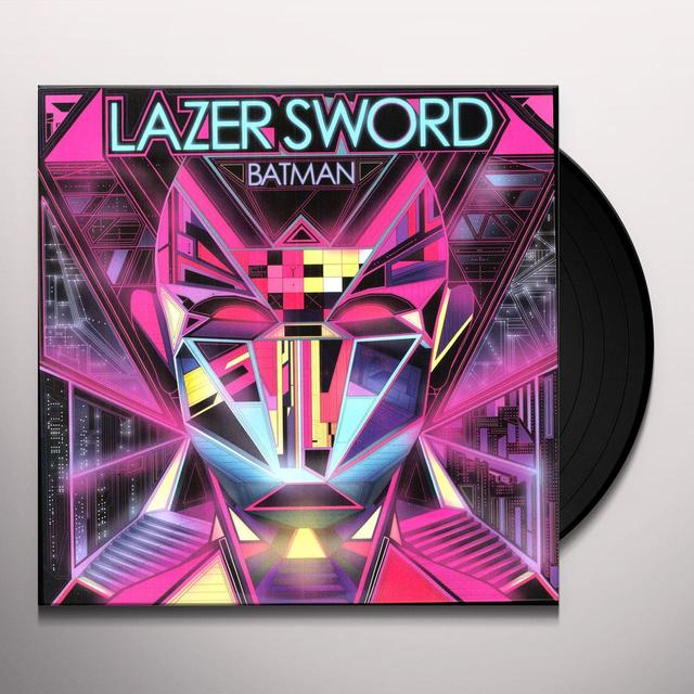 Lazer Sword BATMAN Vinyl Record
