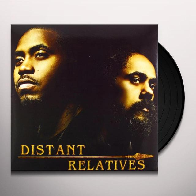 Nas & Damian Marley DISTANT RELATIVES Vinyl Record