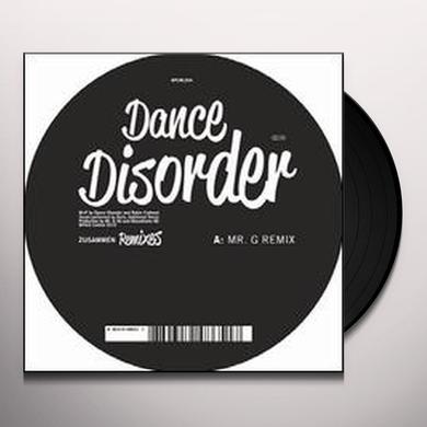 Dance Disorder ZUSAMMEN REMIXES (EP) Vinyl Record