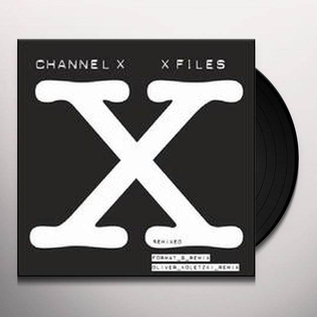 Channel X X-FILES REMIXED Vinyl Record