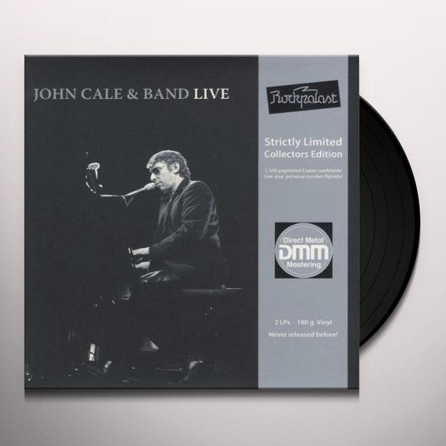 John Cale LIVE AT ROCKPALAST Vinyl Record