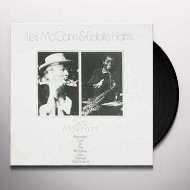 Les Mccann / Eddie Harris SWISS MOVEMENT Vinyl Record - 180 Gram Pressing