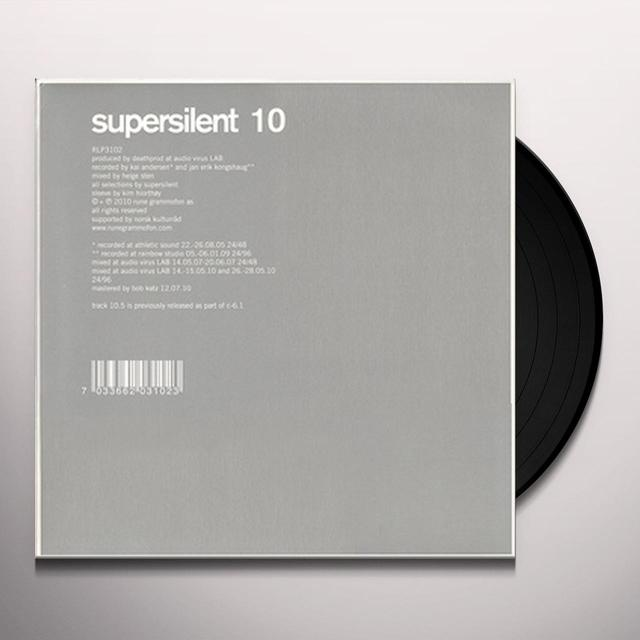 Supersilent 10 Vinyl Record