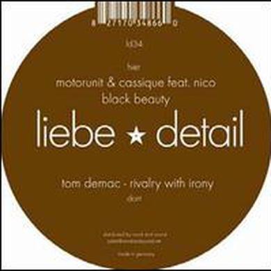 Tom / Motorunit Demac & Cassique RIVALRY WITH IRONY / BLACK BEAUTY Vinyl Record