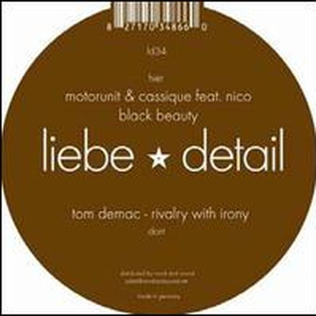 Tom / Motorunit Demac & Cassique RIVALRY WITH IRONY / BLACK BEAUTY Vinyl Record