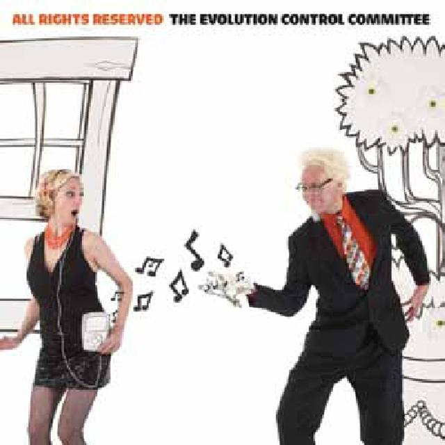 Evolution Control Committee ALL RIGHTS RESERVED Vinyl Record
