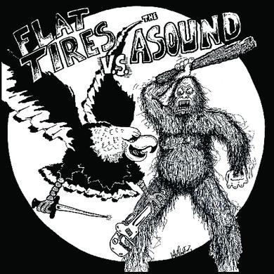 Flat Tires / Asound FLAT TIRES / THE ASOUND Vinyl Record