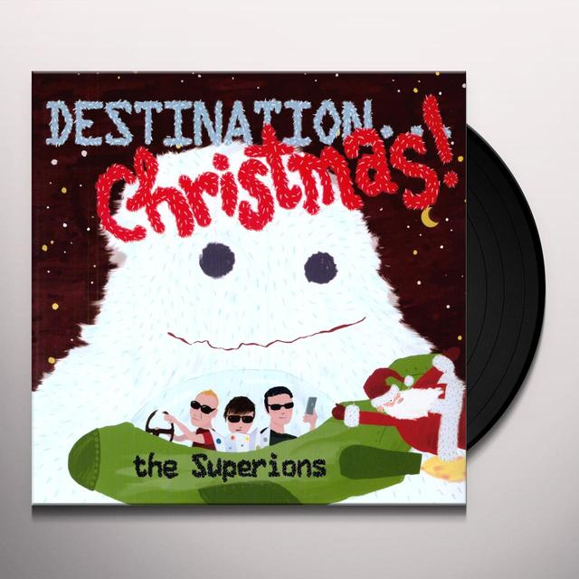 Superions DESTINATION: CHRISTMAS Vinyl Record