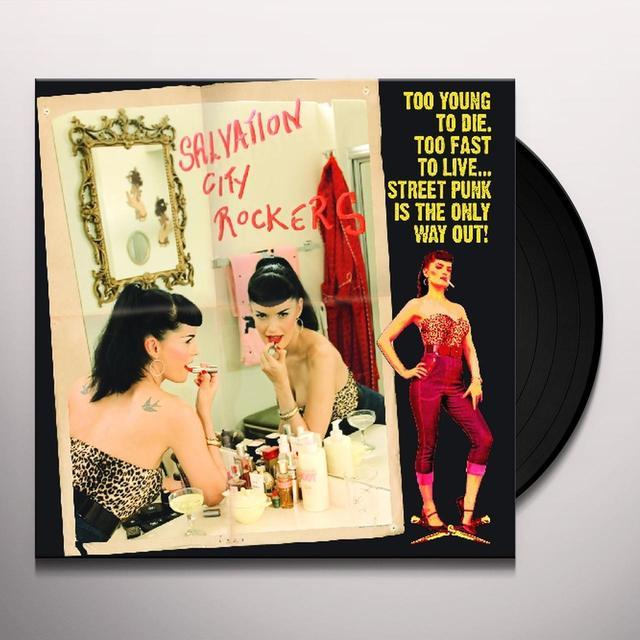 SALVATION CITY ROCKERS Vinyl Record