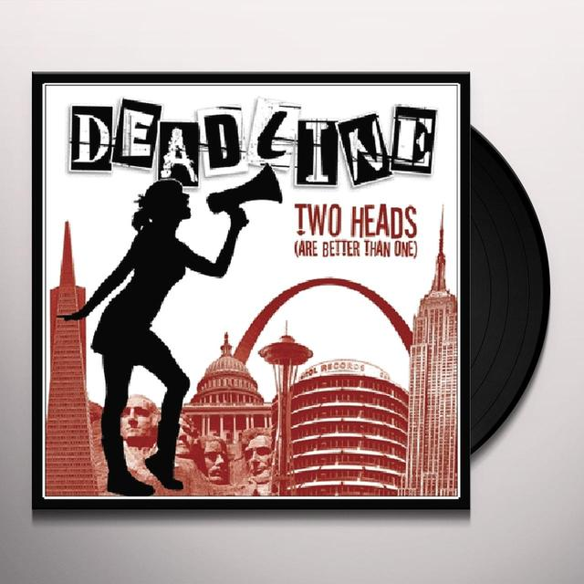 Deadline TWO HEADS Vinyl Record