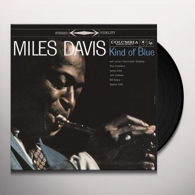 Miles Davis KIND OF BLUE Vinyl Record