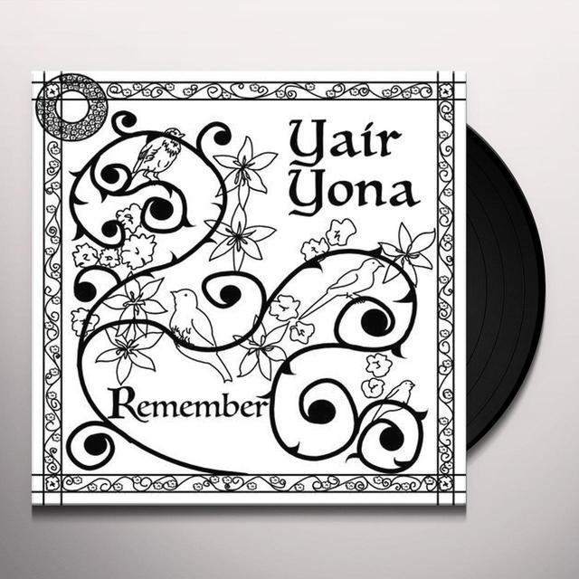 Yair Yona REMEMBER Vinyl Record