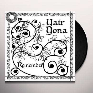 Yair Yona REMEMBER Vinyl Record