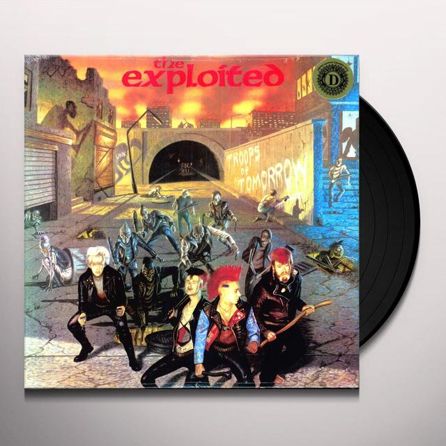 The Exploited TROOPS OF TOMORROW (LTD) (Vinyl)