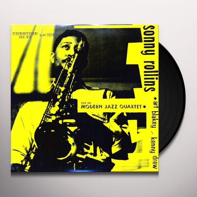 SONNY ROLLINS WITH THE MODERN JAZZ QUARTET Vinyl Record