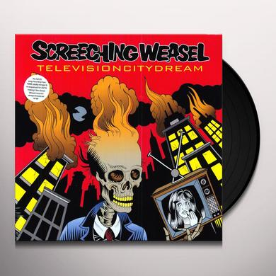 Screeching Weasel TELEVISION CITY DREAM Vinyl Record