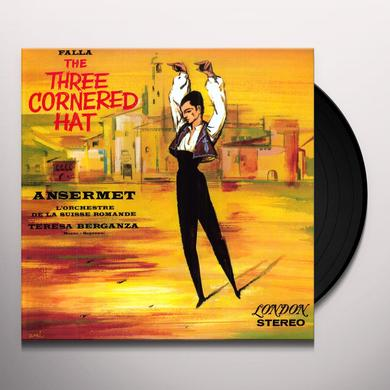 Ernest Ansermet FALLA THE THREE CORNERED HAT Vinyl Record - 180 Gram Pressing
