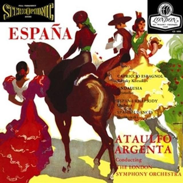 Ataulfo Argenta & Lso ESPANA Vinyl Record - 180 Gram Pressing