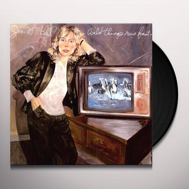 Joni Mitchell WILD THINGS RUN FAST Vinyl Record