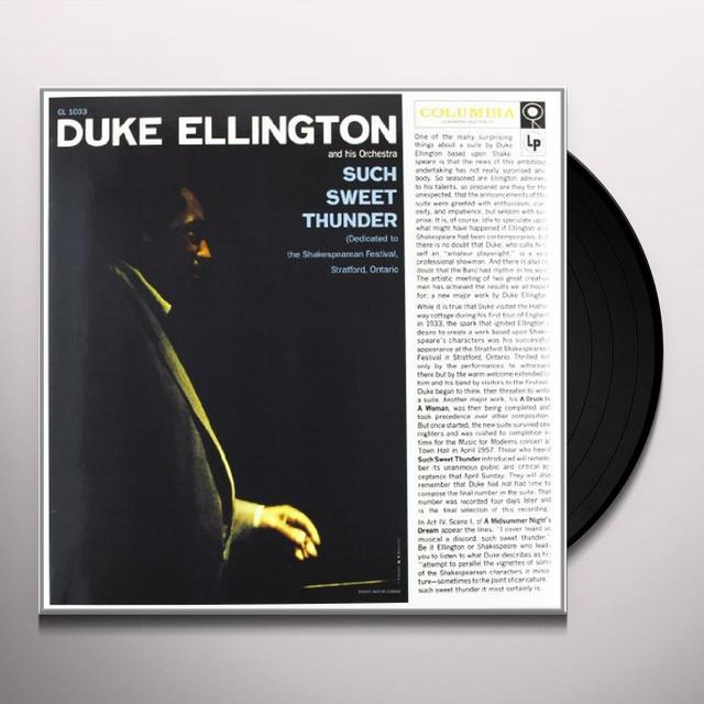 Duke Ellington & His Cotton Club Orchestra SUCH SWEET THUNDER Vinyl Record