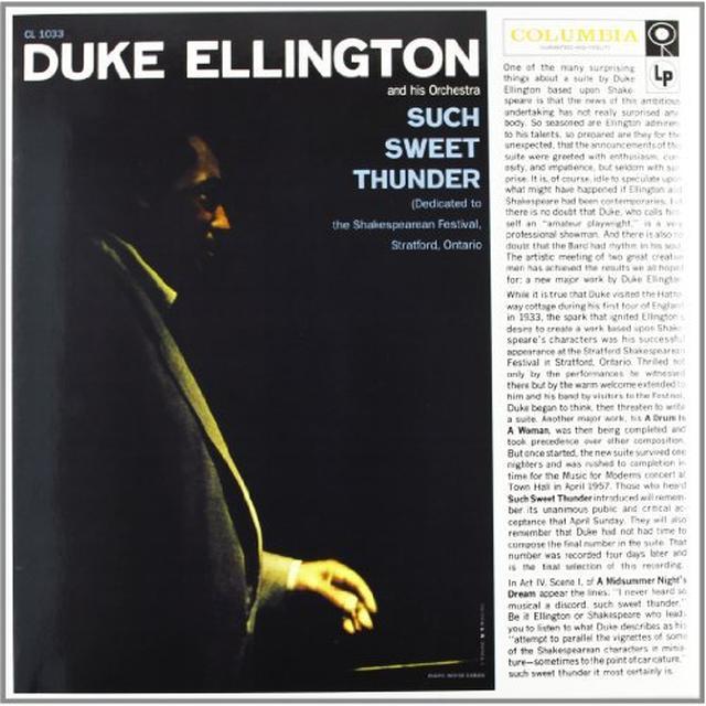 Duke / His Orchestra Ellington SUCH SWEET THUNDER Vinyl Record - 180 Gram Pressing