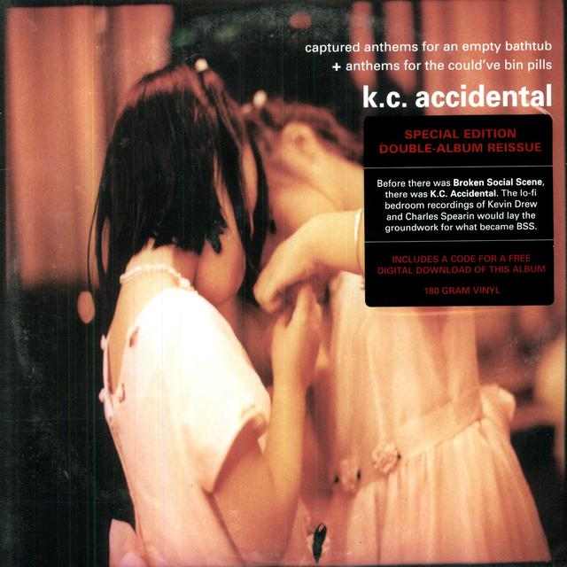 Kc Accidental CAPTURED ANTHEMS FOR AN EMPTY BATHTUB & ANTHEMS Vinyl Record