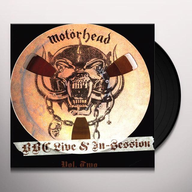 Motorhead BBC LIVE IN SESSION 2 Vinyl Record - Limited Edition