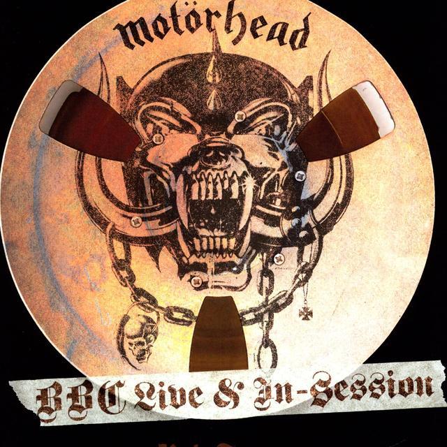 Motorhead BBC LIVE IN SESSION 2 Vinyl Record