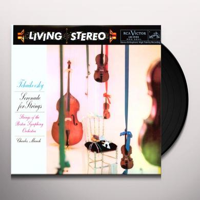 Charles / Bso / Tchaikovsky Munch SERENADE FOR STRINGS Vinyl Record - Limited Edition, 180 Gram Pressing
