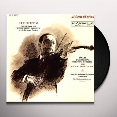 Jascha / Beethoven / Kreutzer Heifetz SONATA Vinyl Record - Limited Edition, 180 Gram Pressing