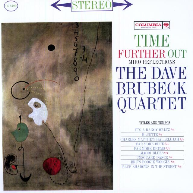 Dave Brubeck TIME FURTHER OUT Vinyl Record - Limited Edition, 180 Gram Pressing