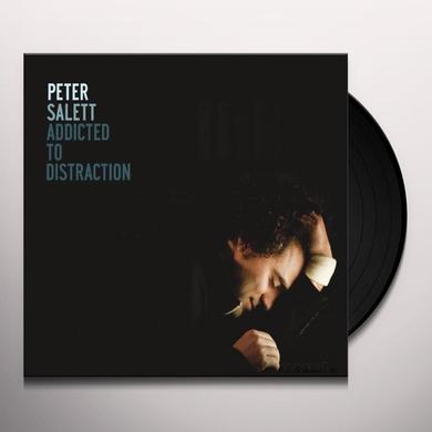 Peter Salett ADDICTED TO DISTRACTION Vinyl Record