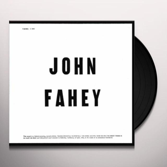 John Fahey BLIND JOE DEATH Vinyl Record