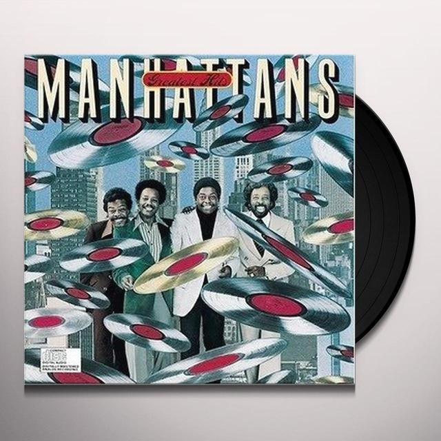 Manhattans GREATEST HITS Vinyl Record