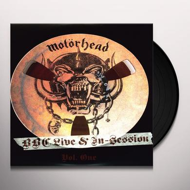 Motorhead BBC LIVE IN SESSION 1 Vinyl Record - Limited Edition