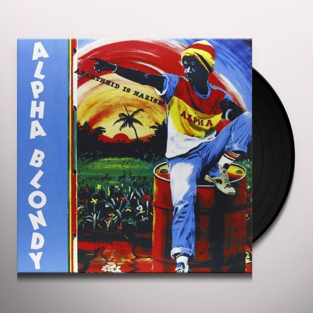 Alpha Blondy APARTHEID IS NAZISM Vinyl Record