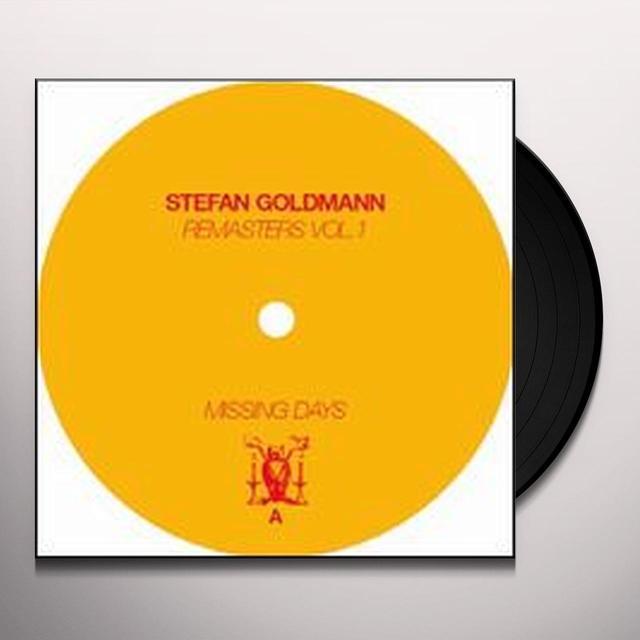 Stefan Goldmann REMASTERS 1 Vinyl Record