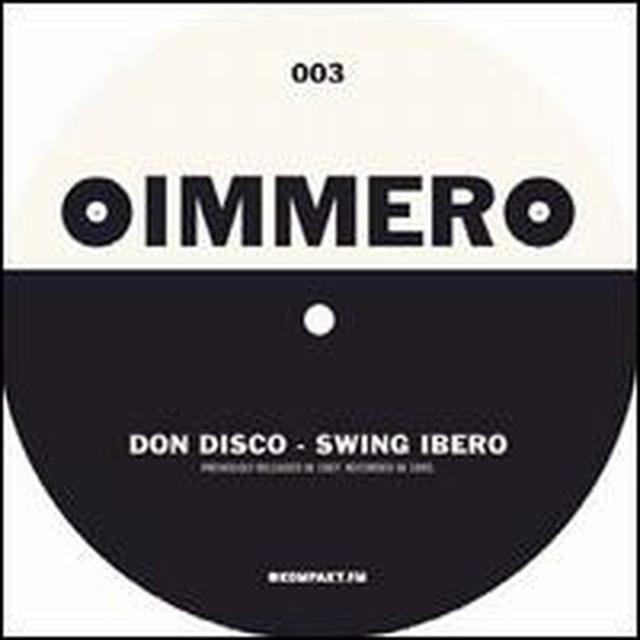 Don Disco / Losoul SWING IBERO / NUIN (EP) Vinyl Record