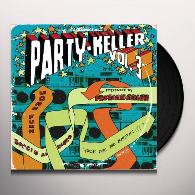 PARTY KELLER 3 / VARIOUS Vinyl Record