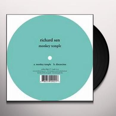 Richard Sen MONKEY TEMPLE (EP) Vinyl Record