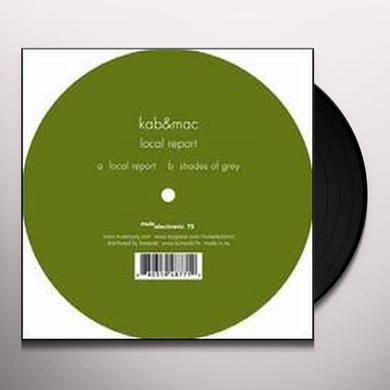 Kab&Mac LOCAL REPORT Vinyl Record