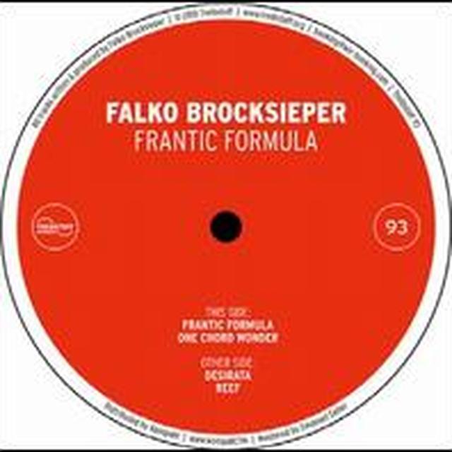 Falko Brocksieper FRANTIC FORMULA Vinyl Record