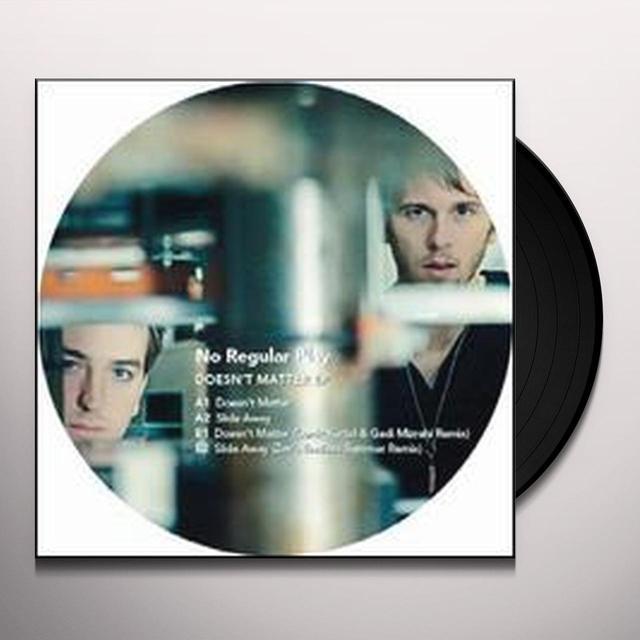 No Regular Play DOESNT MATTER Vinyl Record
