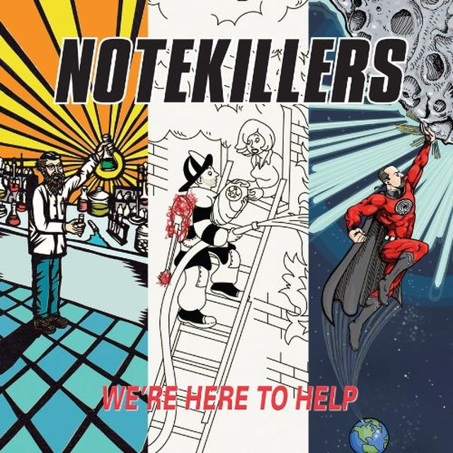 Notekillers WERE HERE TO HELP Vinyl Record - Limited Edition
