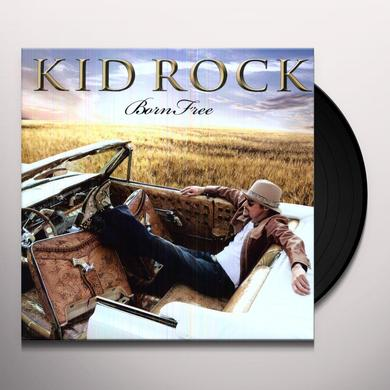 Kid Rock BORN FREE (BONUS CD) Vinyl Record