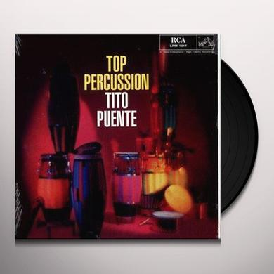Tito Puente TOP PERCUSSION Vinyl Record